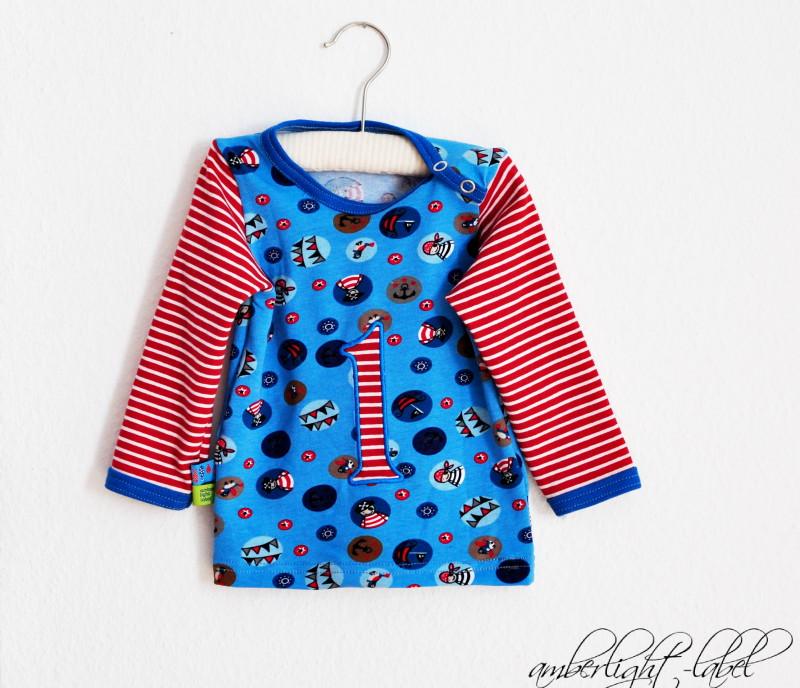 1. Geburtstag: Shirt Baby Basics ottobre 4/2011, Gr. 74