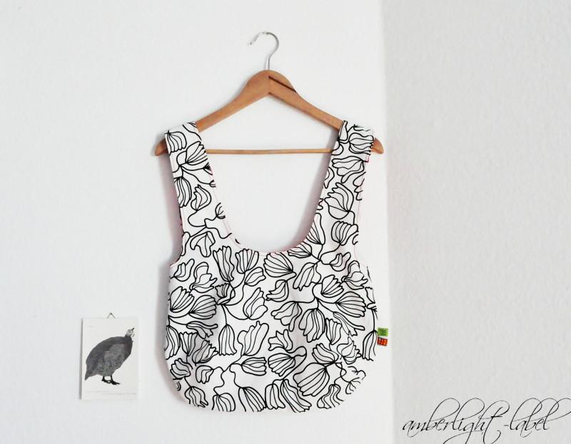 Wendetasche | reversible bag von Verypurpleperson
