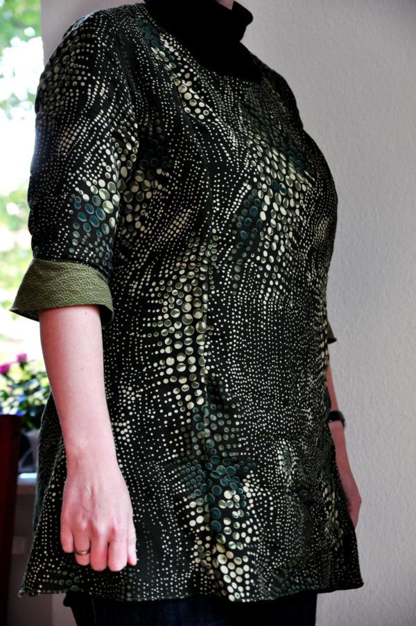 MMM: Svea-Tunika aus Krokodilsstoff
