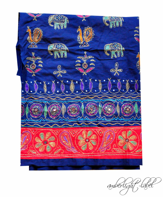 Indischer Elefantenstoff