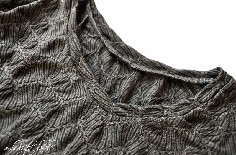 MMM: Sweet Winter Shirt mit V-Ausschnitt von Näähglück