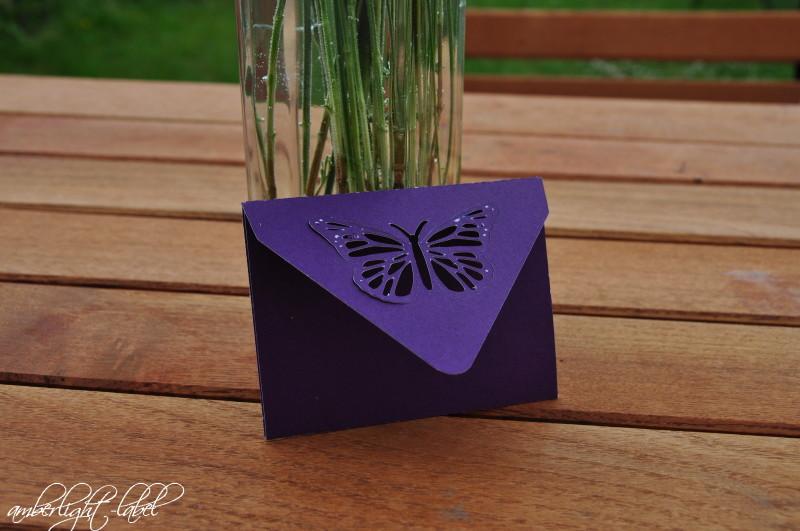 7. Hochzeitstag Kupferne Hochzeit Schmetterlingskarte Silhouette Store & Rose Schloss Ippenburg