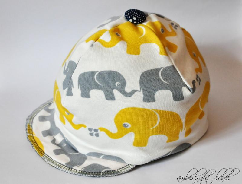 Nosh Nähwettbewerb: Cap Beanie Mütze