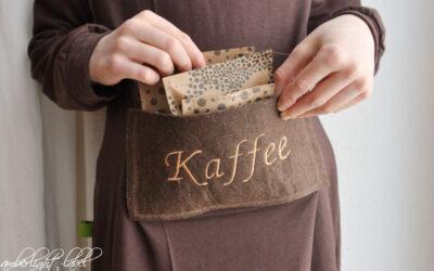 Faschingskostüm Kaffeemühle Kleid Falling Leaves Ottobre 4/2016 Gr. 134 & 2021 Pattern Parade März