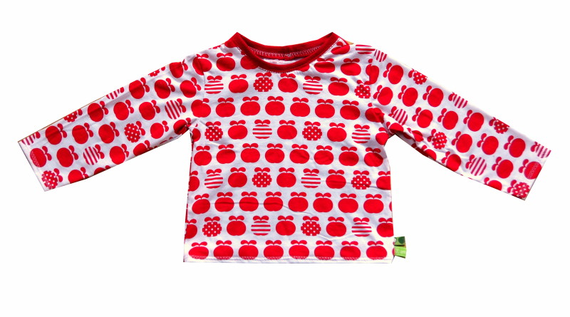 Apfel-Shirt Ottobre Creativ Workshop 301 Gr. 92+