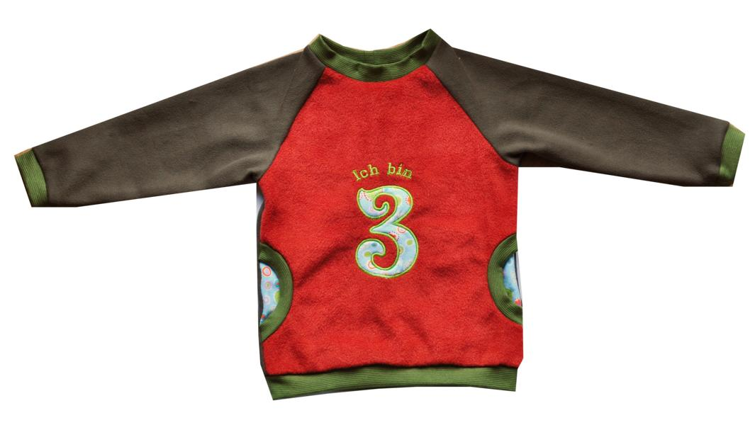 3. Geburtstag: Pullover statt Shirt