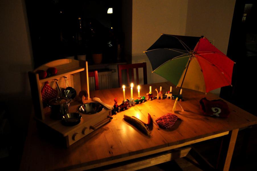 3. Geburtstag: Geschenke, Weintraubenigel & Fliegenpilz