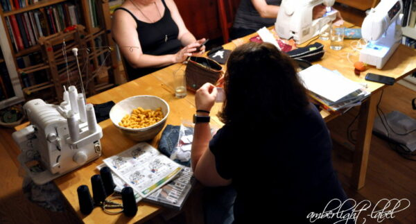 Nähtreff #dresdennähtblogger im Mai via Jitsi und im Juni 2021 bei amberlight