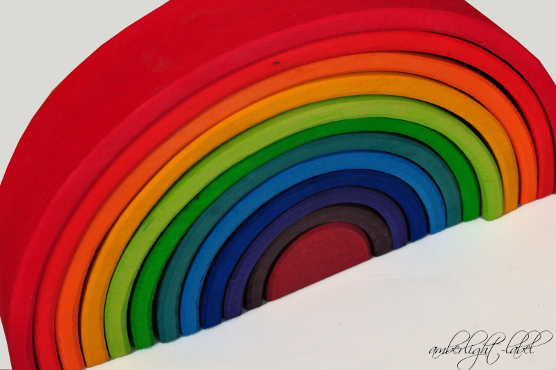 Holzspielzeug: Grimm's Regenbogen