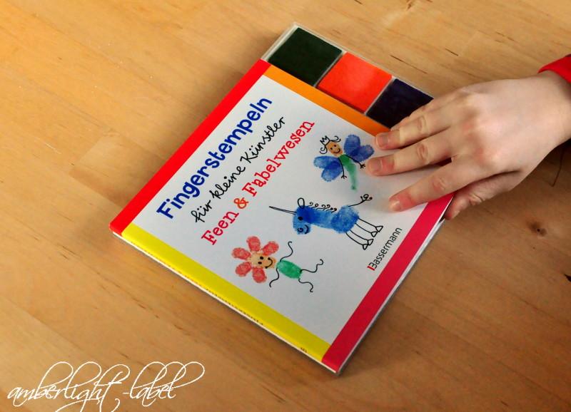 Fingerstempeln für kleine Künstler: Feen & Fabelwesen