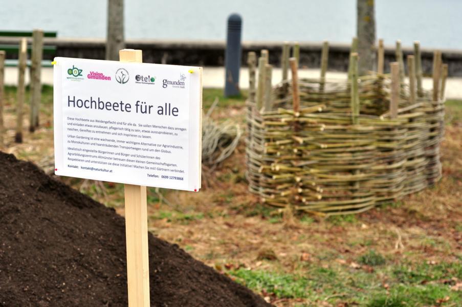 Urban gardening: Hochbeete in Gmunden
