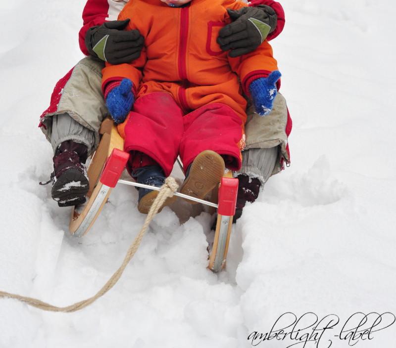 Grünzeug: Winterspaziergang, Rodeln & Kuschlig+Warm-Mütze