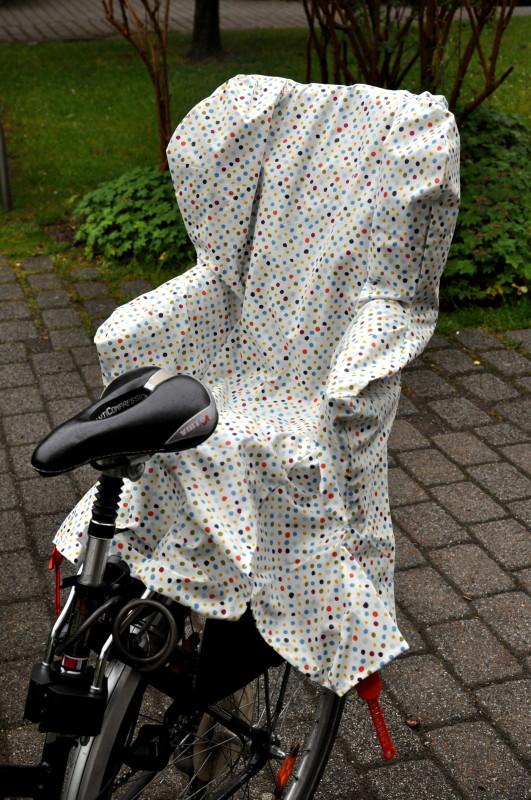 Regenschutz Fahrradkindersitz Römer Jockey