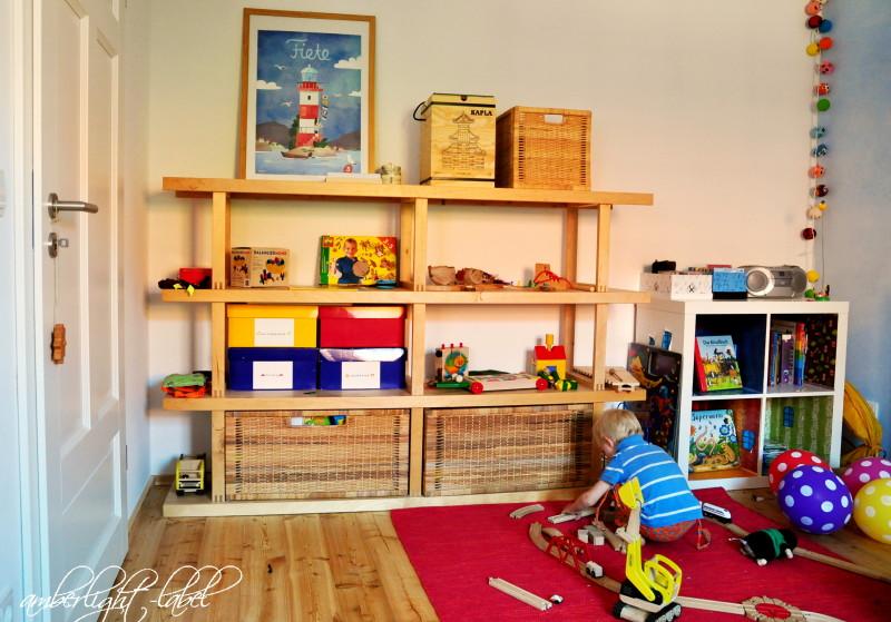 Minimalismus im Kinderzimmer