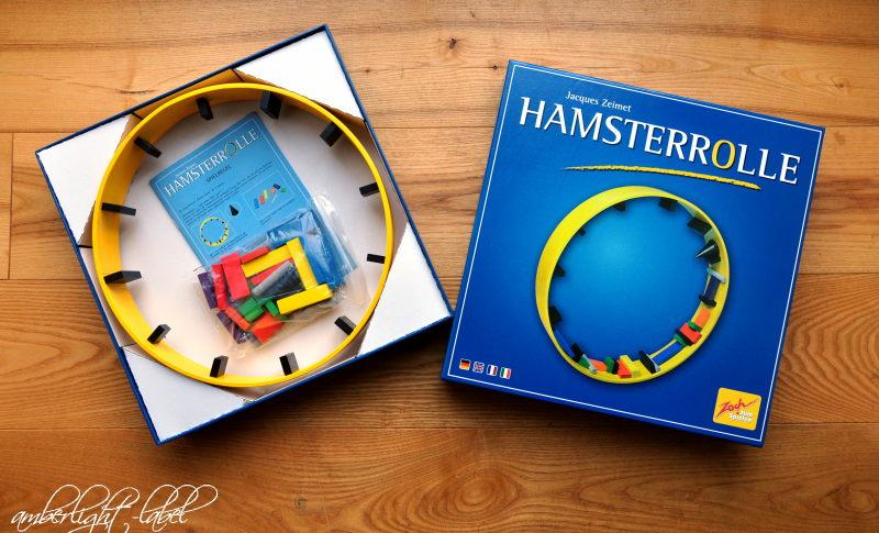 Spiel(zeug)rezensionen: Hamsterrolle von Zoch