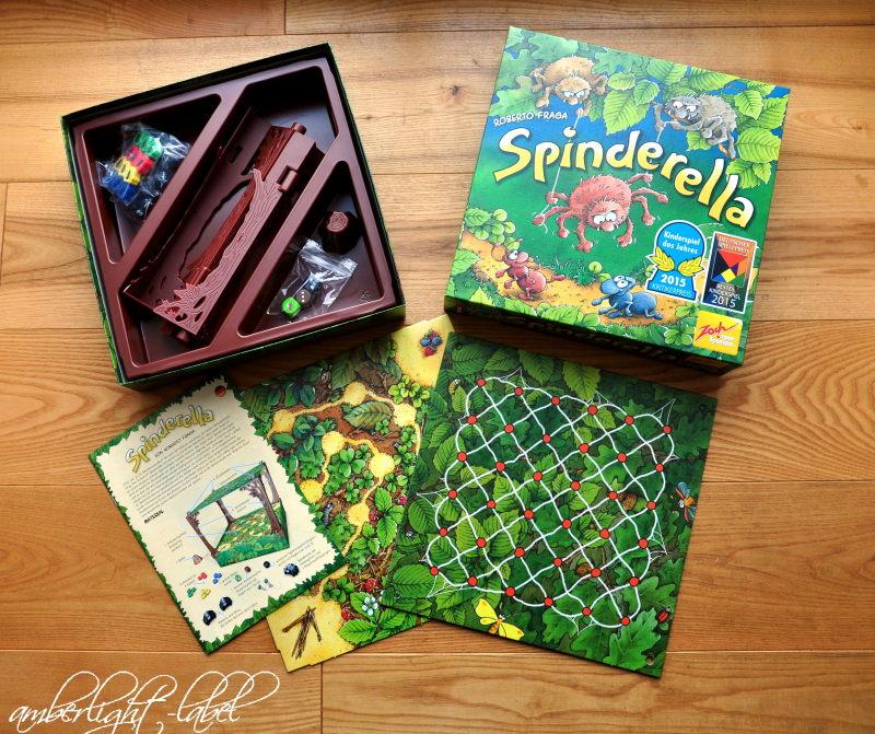 Spiel(zeug)rezension: Spinderella von Zoch