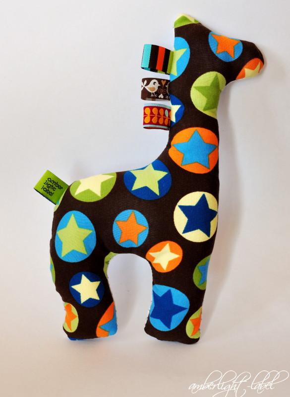 Greif-Giraffe für den Zweitgeborenen & Bloggedanken