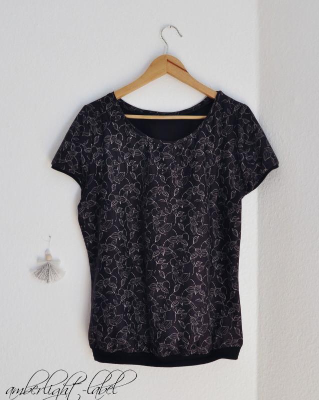 MMM: Shirt Liv mit Saumbund von Pattydoo