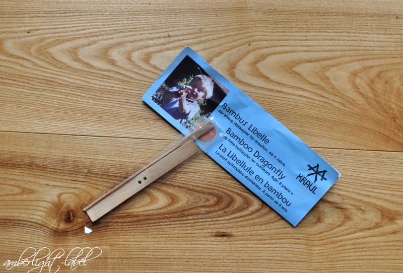 Geschenke für die Schuleinführung – Bambus Libelle von Kraul