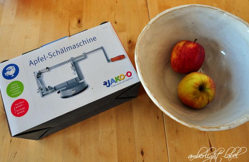 Apfel Schälmaschine für Kinder