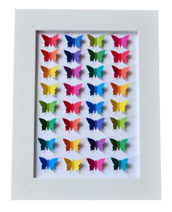 Schmetterlinge für das Kinderzimmer