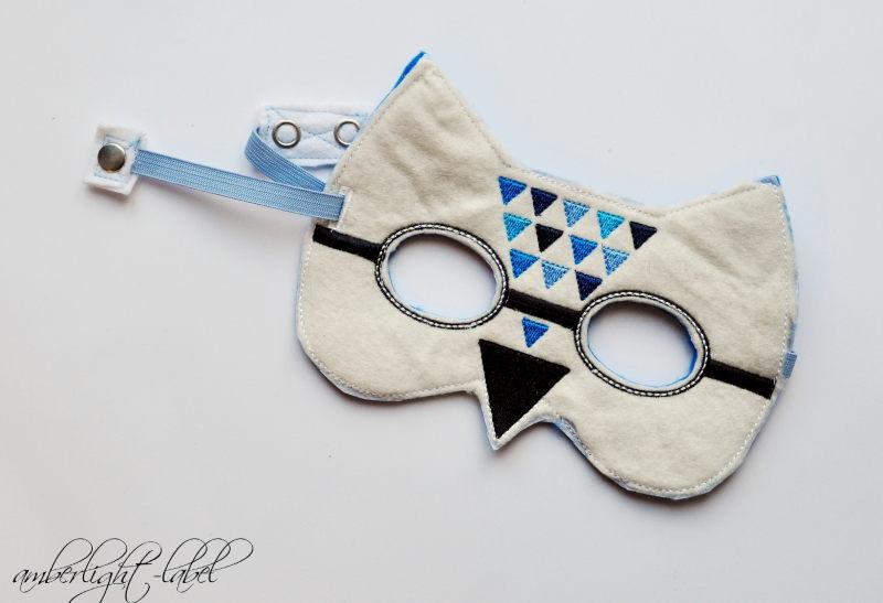 Faschingskostüm Blaumeise Maske