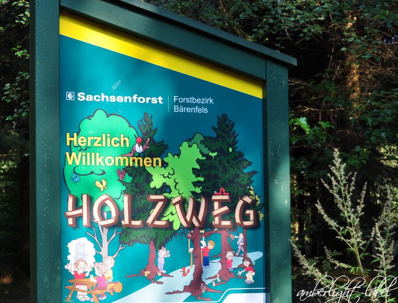 Grünzeug: Familienwandertag Walderlebnis Grillenburg Holzweg, Abenteuerpfad und Sinnespfad