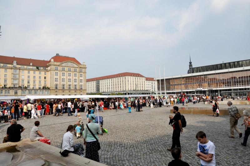 Holländischer Stoffmarkt Dresden August 2013