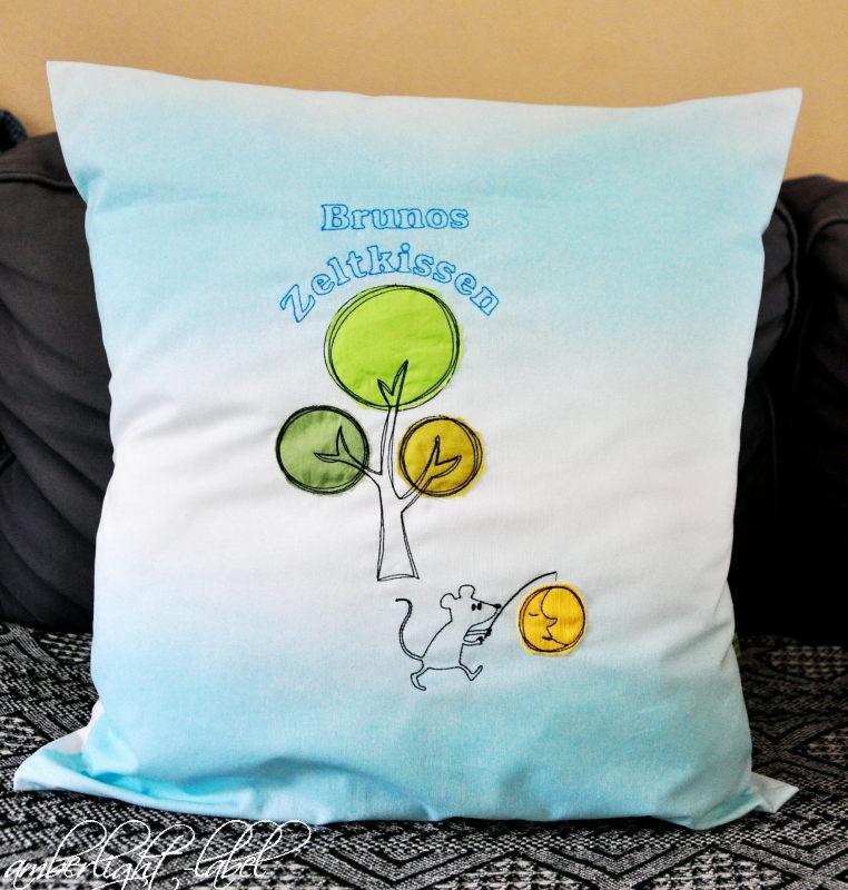 Geschenke Kindergeburtstag Zeltkissen Übernachtung