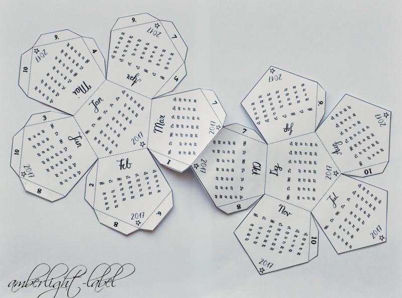 3D Faltkalender von Cuchikind