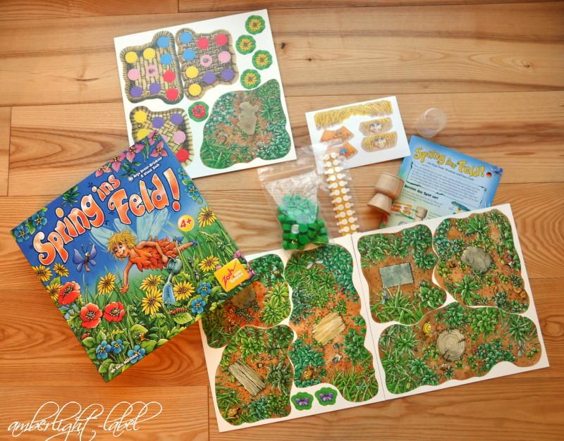 Spiel(zeug)rezension: Noris Spiele – Spring ins Feld