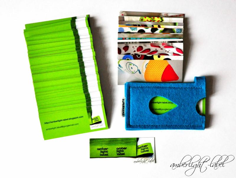 Blogger-Visitenkarten: Moo Cards III