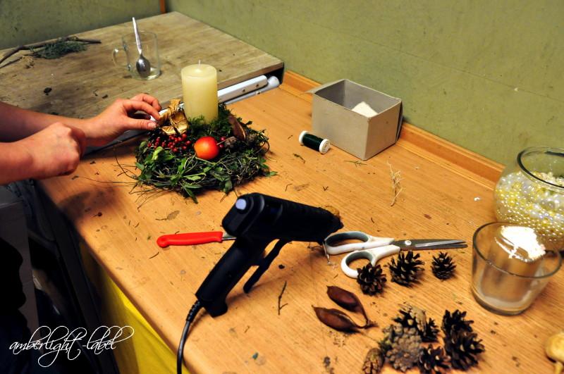Floraler WeihnachtsWorkshop in der Blumenbinderei
