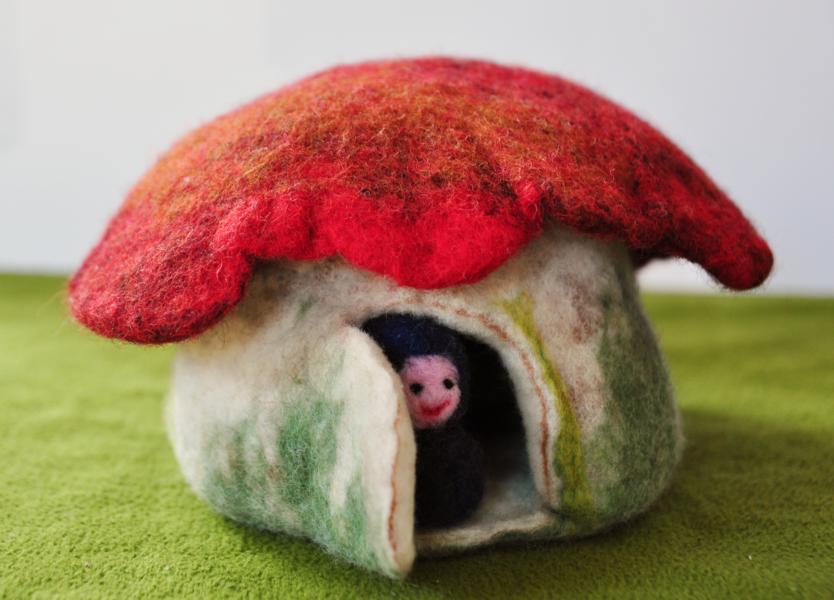 Pilzhaus von Lana Siry