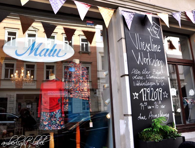 Vlieseline Workshop Freudenberg im Nähcafe Malu