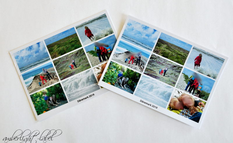 Werbung / Anzeige: MyPostcard Dänemark Urlaubspostkarten mit persönlichen Motiven Portoalternative