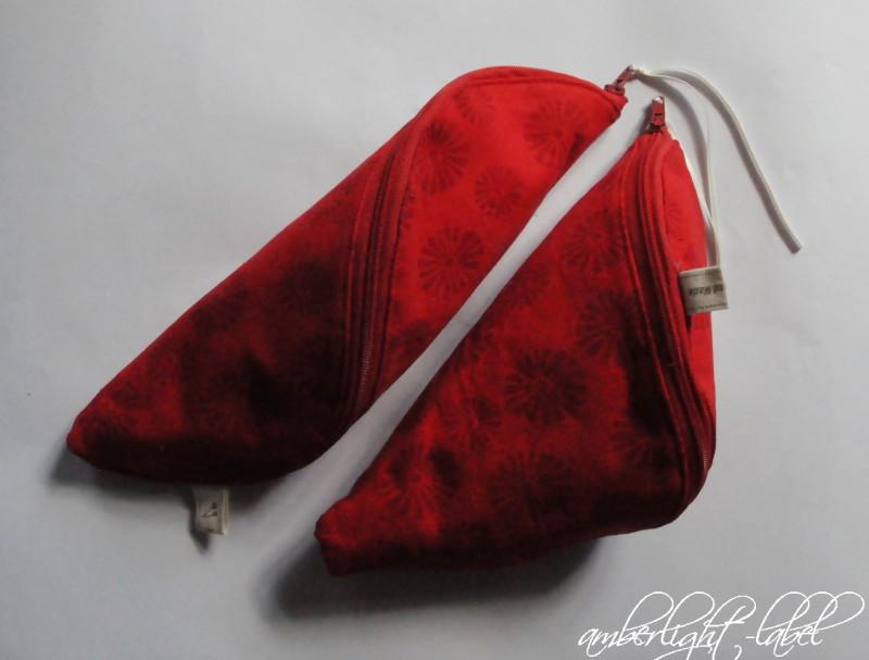 #fqwichteln Reißverschlusstaschen