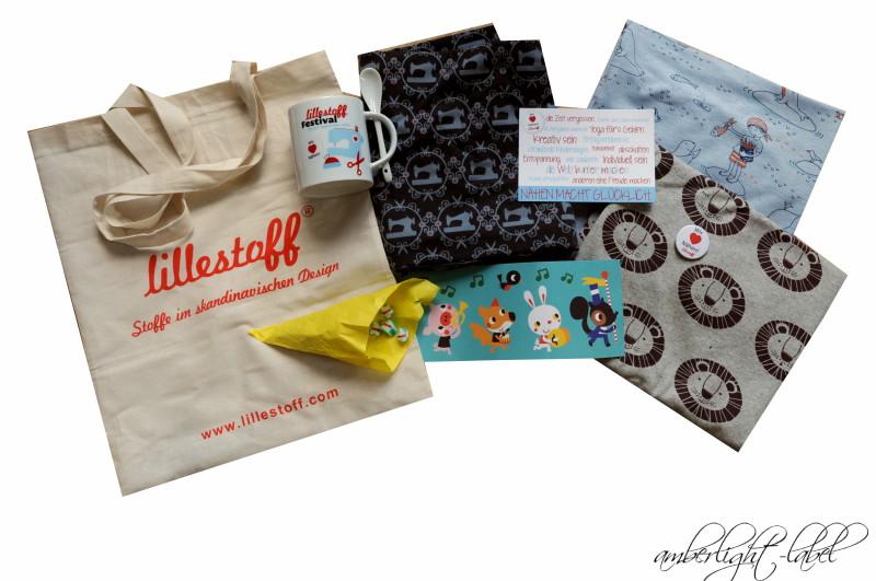 Goodie-Bag und Stoffkauf #lillestofffestival2015