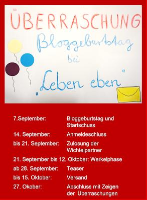 12. Bloggeburtstag bei Leben-eben
