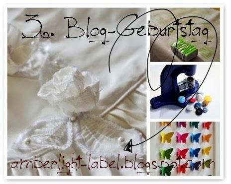 3. Blog-Geburtstag & Verlosung