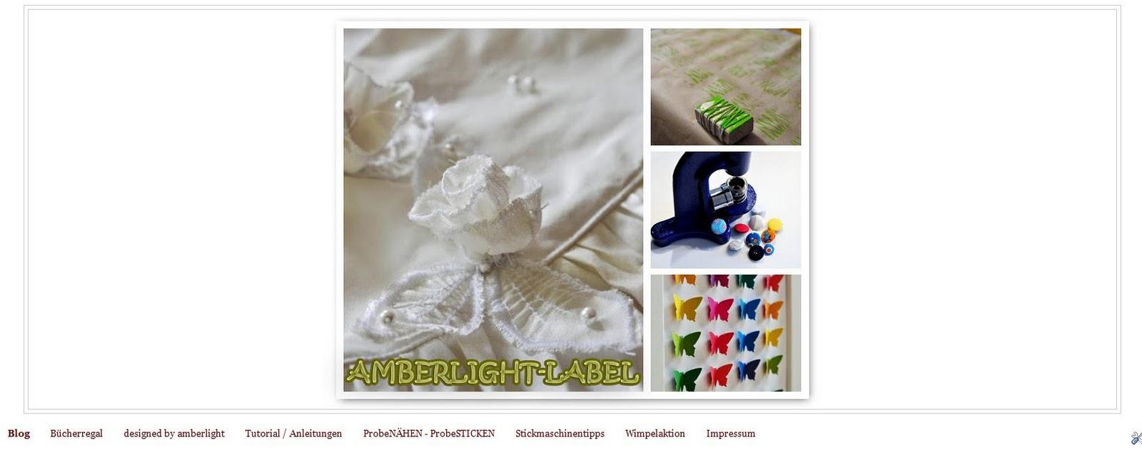 Neuer Header auf amberlight-label