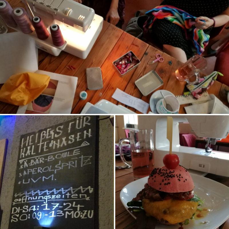 Dresdner Nähbloggertreffen im Juni 2018 &Rausch