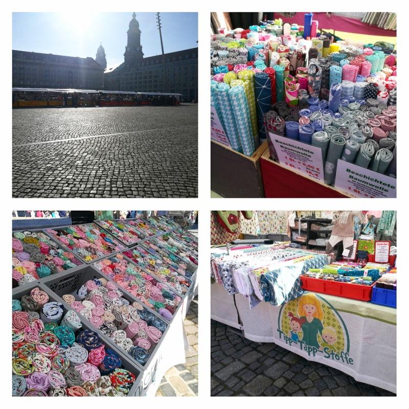 Holländischer Stoffmarkt Dresden Frühjahr 2019