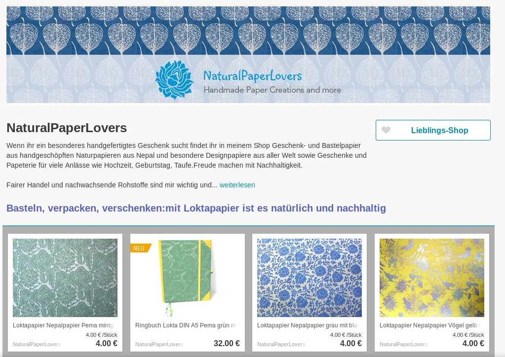 Interview: NaturalPaperLovers Nepalpapier Loktapapier