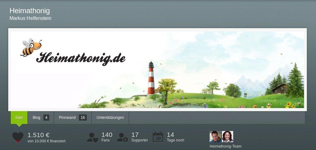Crowdfunding Heimathonig