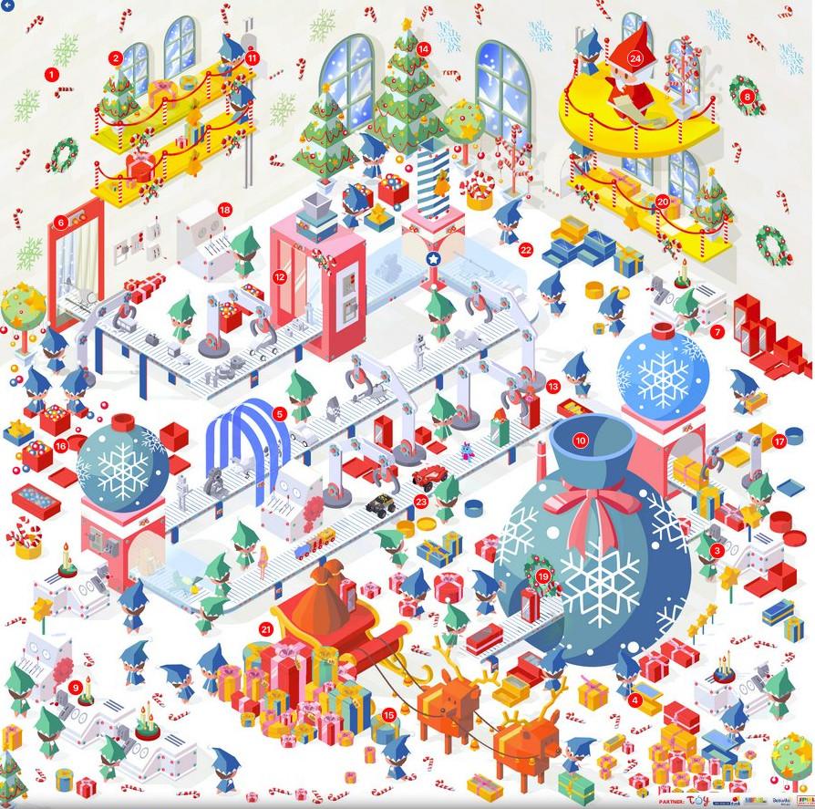 Spielwaren-Adventskalender vom Toyfan-Club