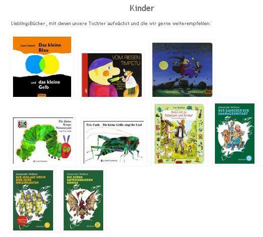 Bücherregal: Kinder