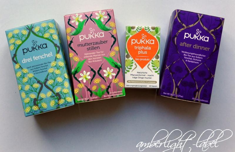 Werbung / Anzeige: Bio-Tee Pukka Herbs in der Stillzeit & Verlosung