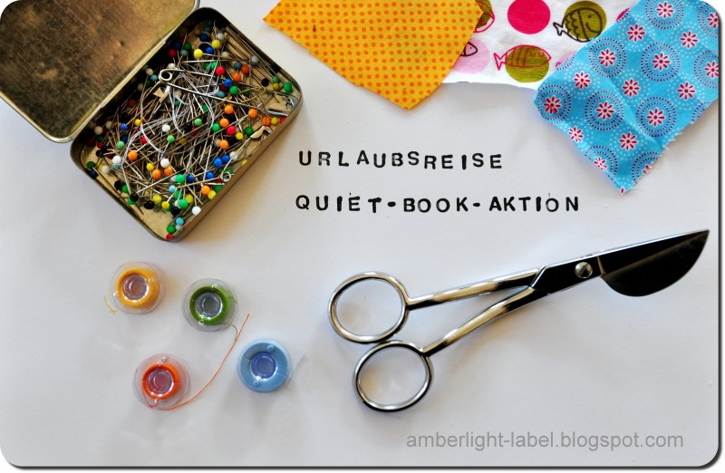 Urlaubsreise Quiet-Book-Aktion