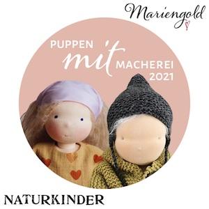 #PuppenMITmacherei2021 von Naturkinder und Mariengold DIY Waldorfpuppe nähen